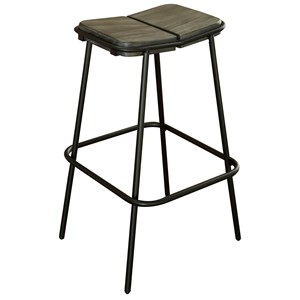 "Contemporary 30"" Bar Stool"