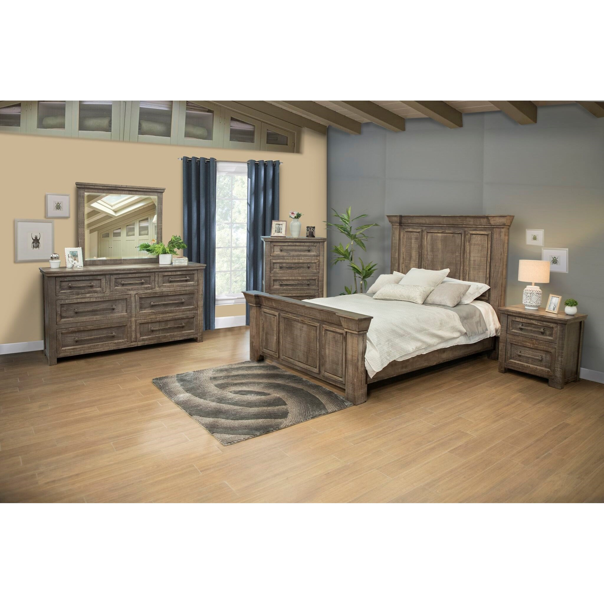 Palencia Queen Bedroom Group by International Furniture Direct at Furniture and ApplianceMart