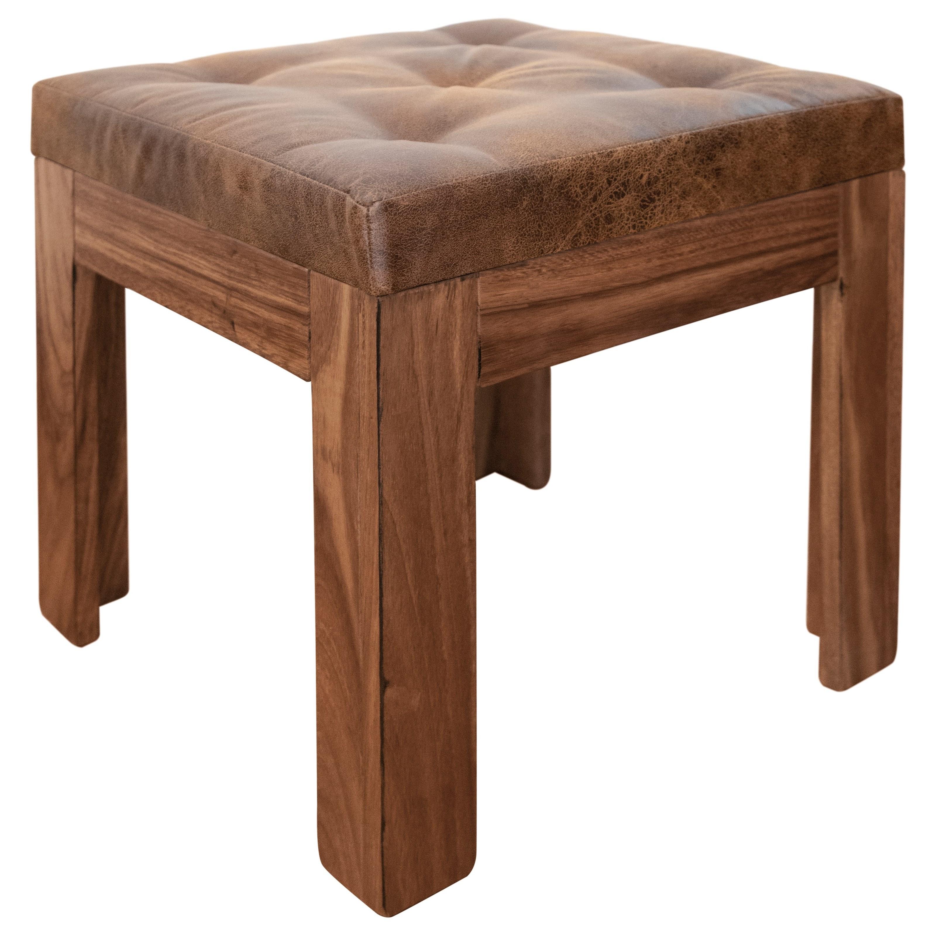 Parota Stool by VFM Signature at Virginia Furniture Market