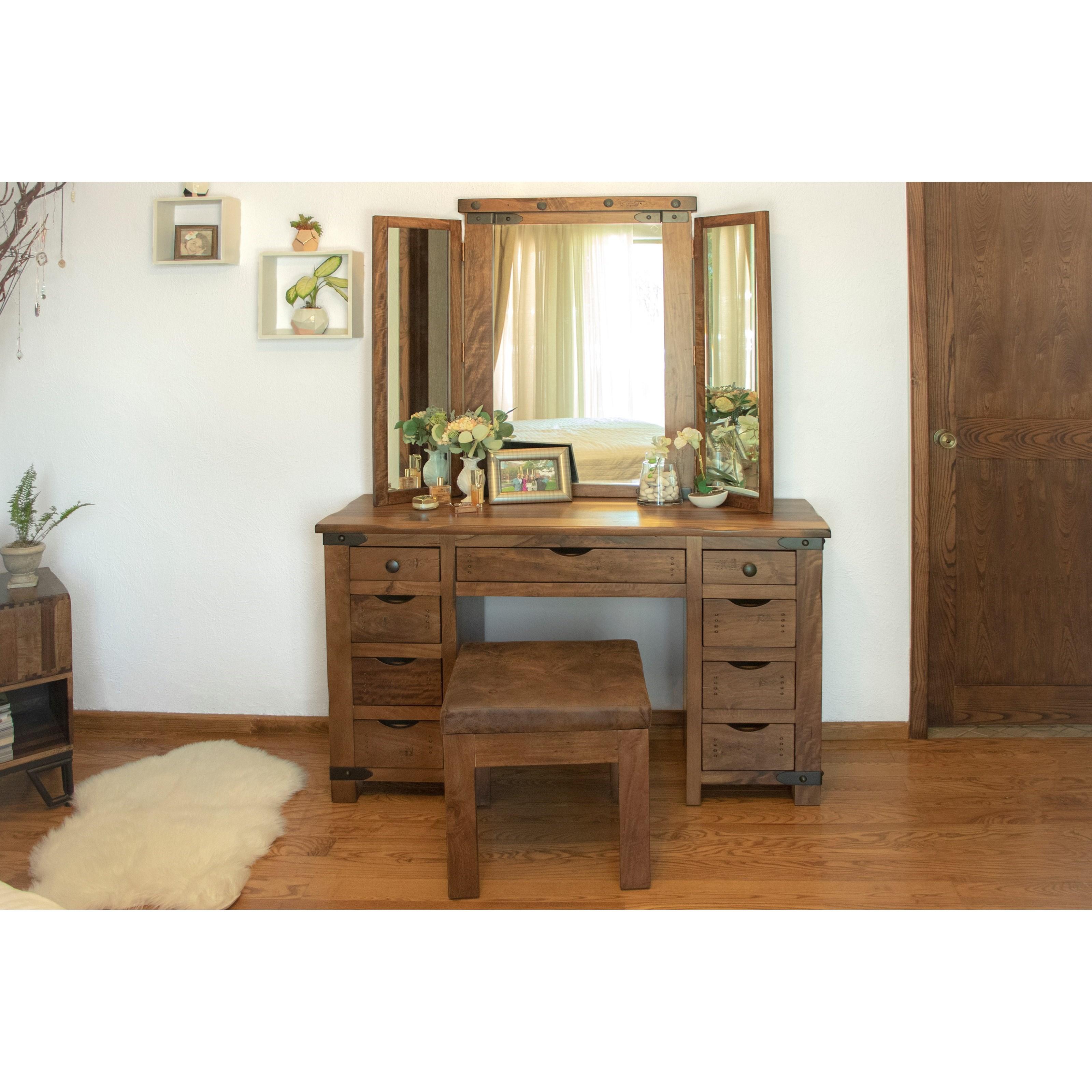Parota Vanity by International Furniture Direct at Zak's Home
