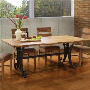 International Furniture Direct Parota Rectangular Dining Table
