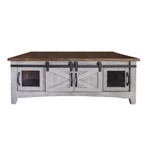 8-Door Cocktail Table