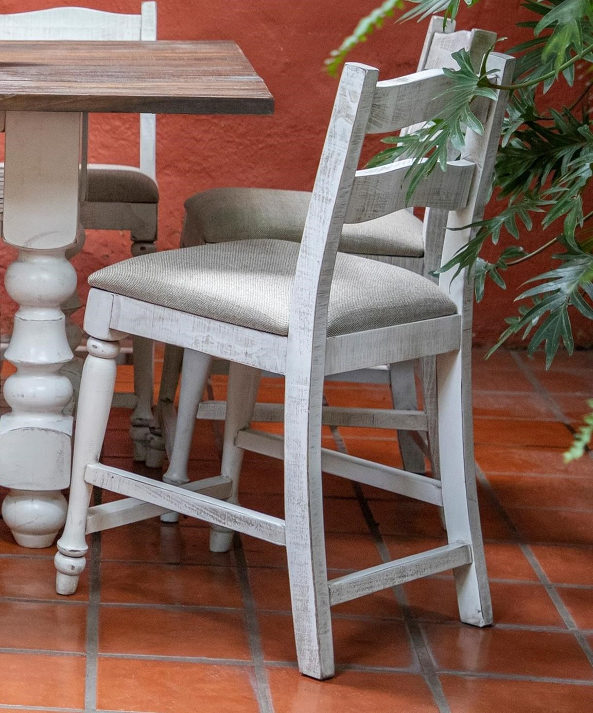 Rock Valley Barstool by International Furniture Direct at Zak's Home