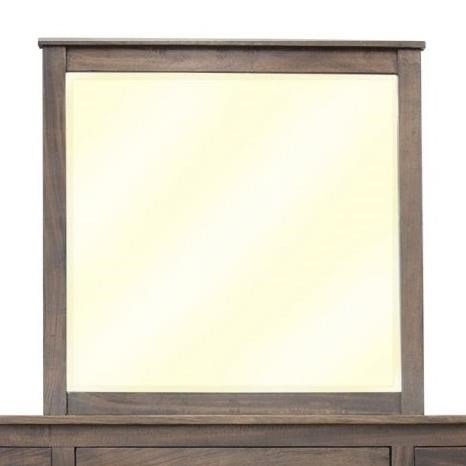San Luis Mirror by International Furniture Direct at Catalog Outlet