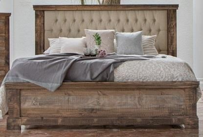 Santa Clara Queen Bed by Artisan at Bennett's Furniture and Mattresses