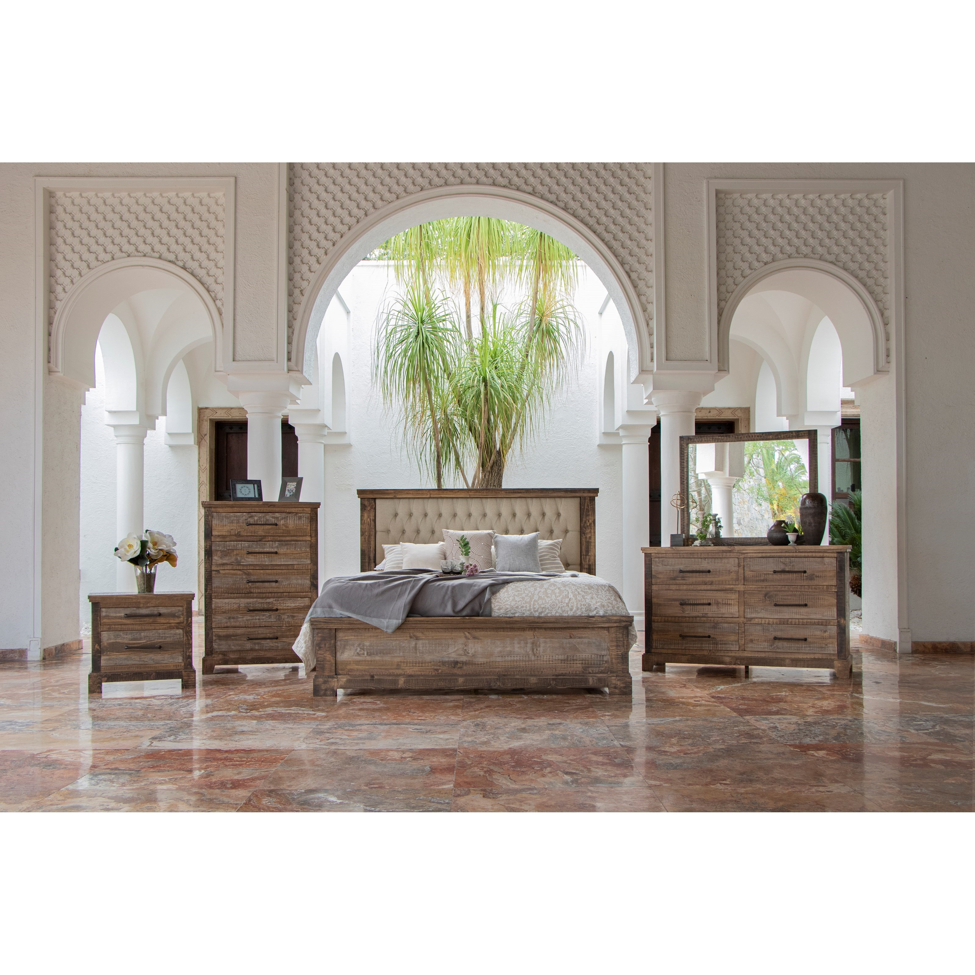 Santa Clara Queen Bedroom Group by VFM Signature at Virginia Furniture Market