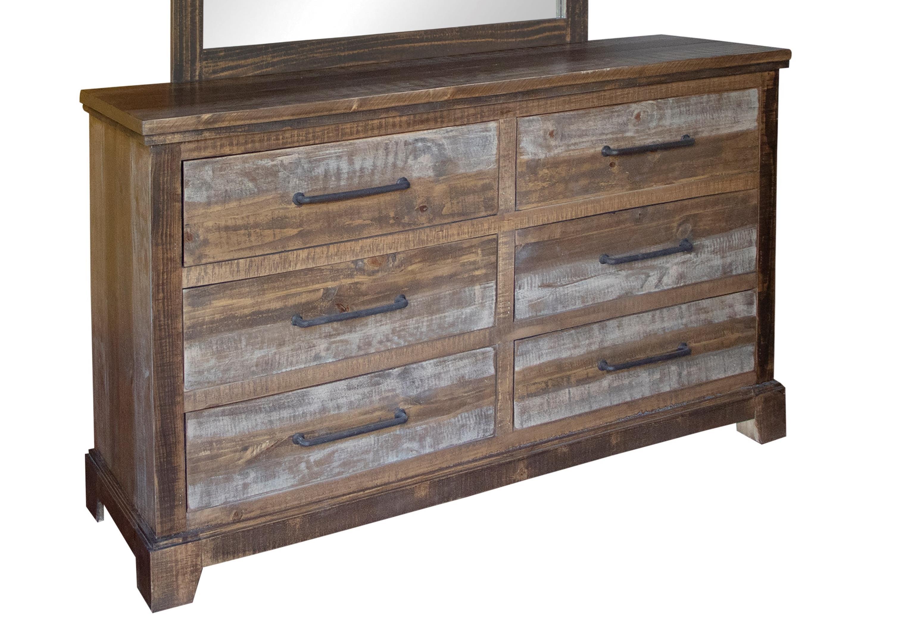 Santa Clara Dresser by International Furniture Direct at Zak's Home