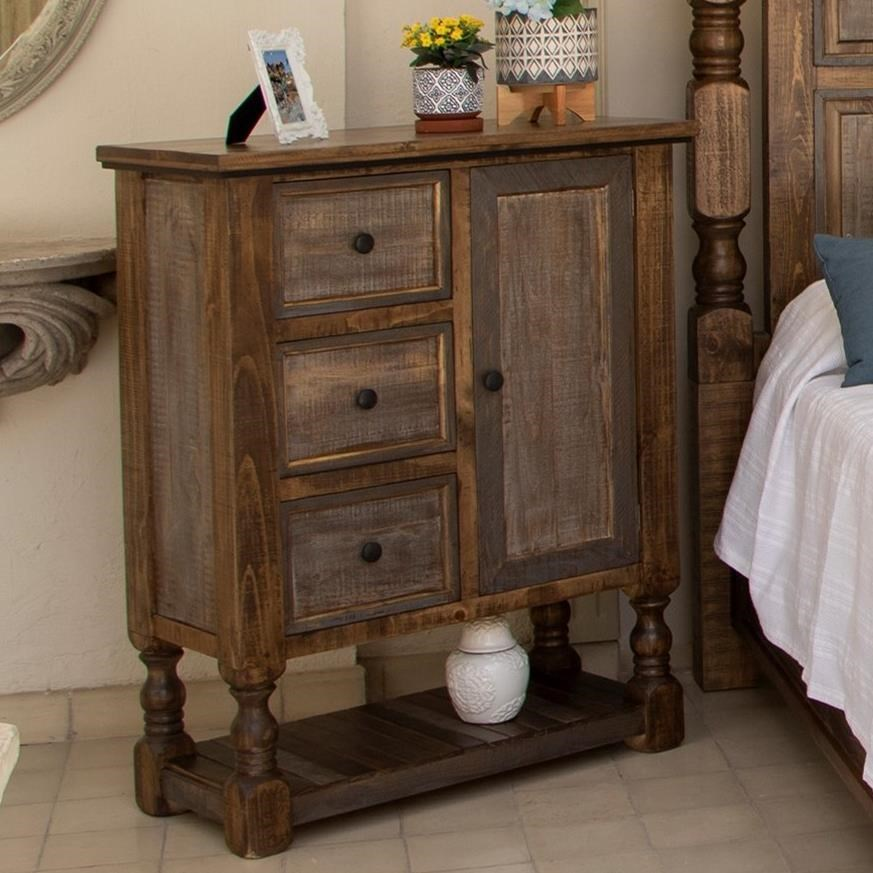Stone Brown Chest by International Furniture Direct at Zak's Home