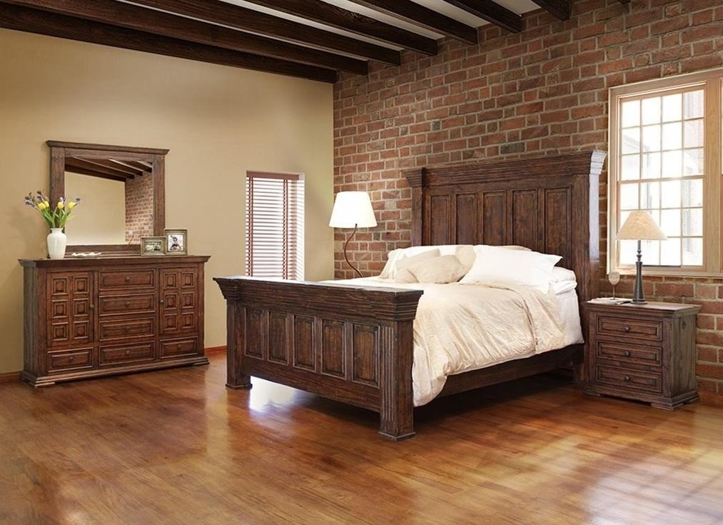 Terra King Bedroom Group by IFD International Furniture Direct at Suburban Furniture
