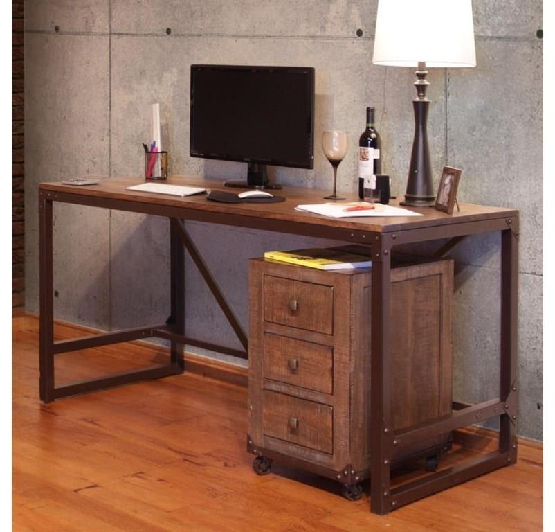 Writing Desk and Bopokcase Set
