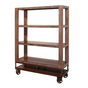 International Furniture Direct Urban Gold 55 Inch Bookcase