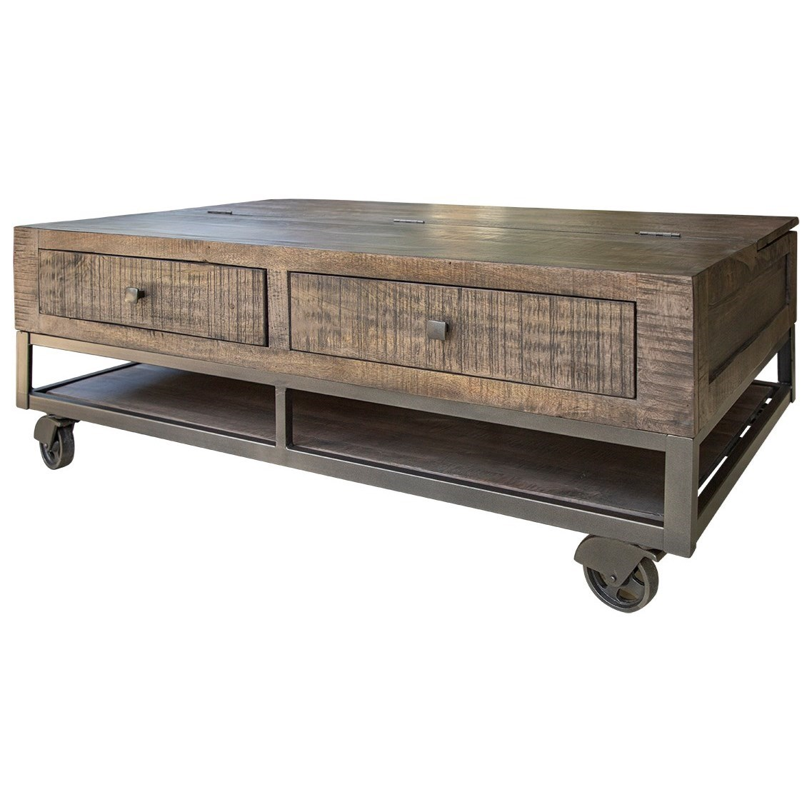 Urban Gray Cocktail Table by International Furniture Direct at Darvin Furniture