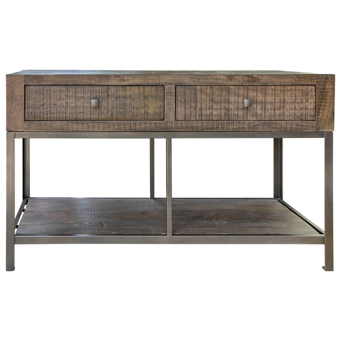 Urban Gray Sofa Table by International Furniture Direct at Darvin Furniture