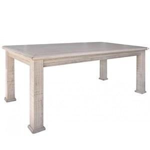 Transitional Rectangular Dining Table