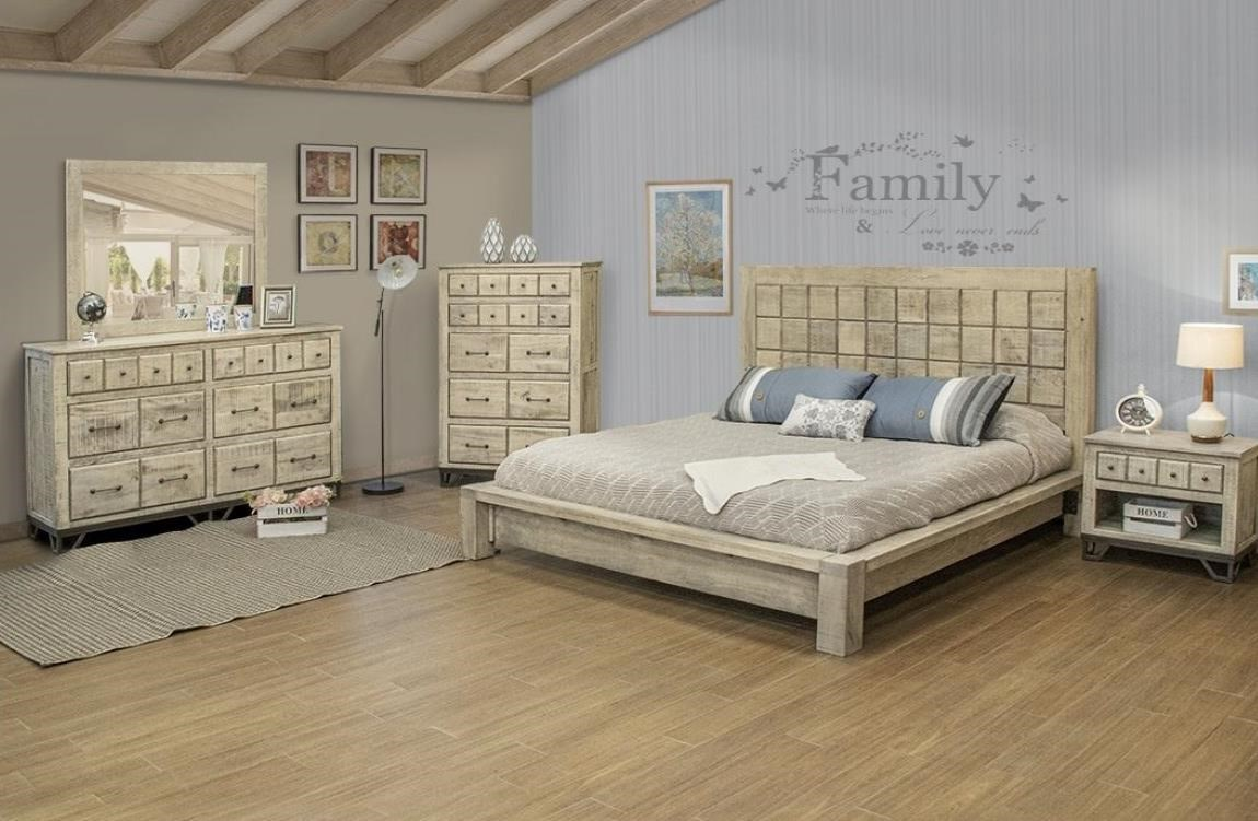Vista Queen Bedroom Group by International Furniture Direct at Home Furnishings Direct