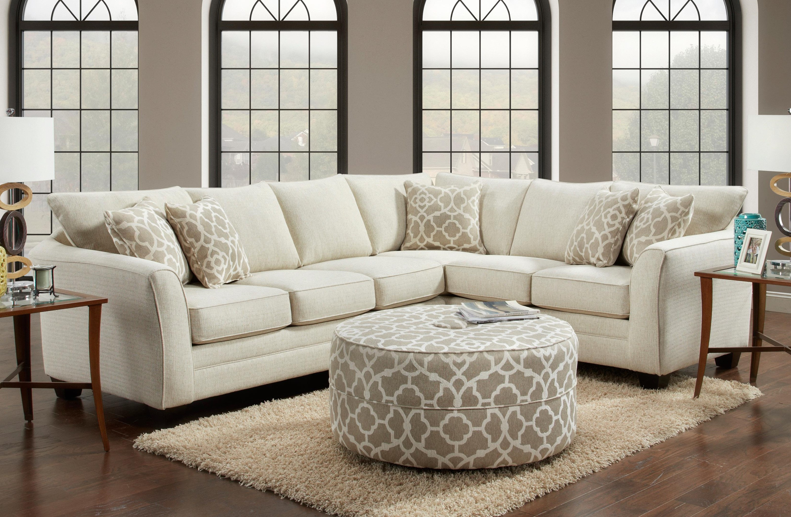 Fenwick 2019 London 2 Piece Sectional by J Furniture at Johnny Janosik
