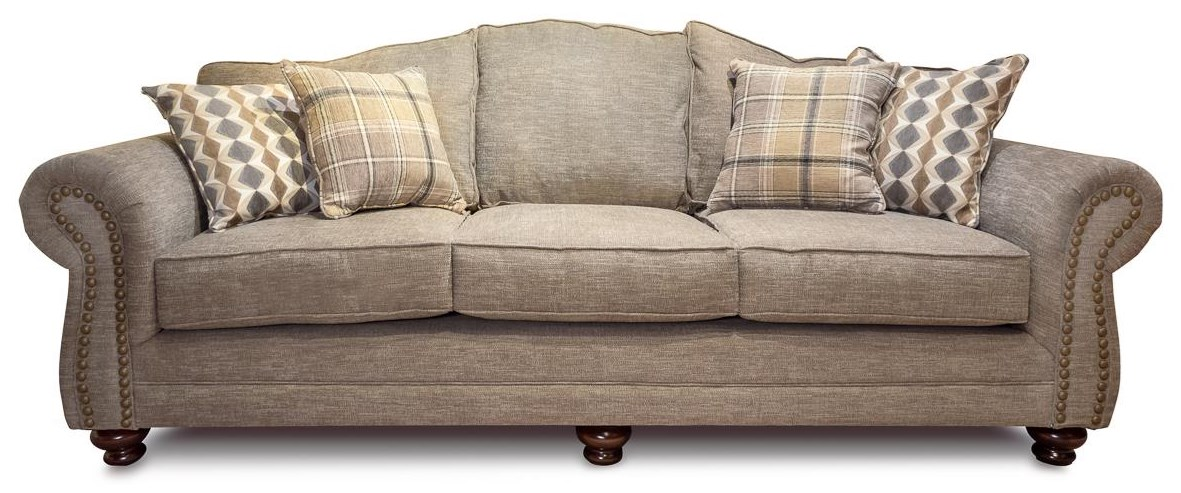 McClane Roll Arm Sofa at Rotmans