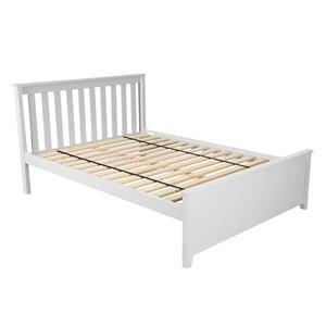Dover Full Bed in White