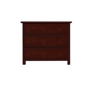 3 Drawer Dresser in Espresso