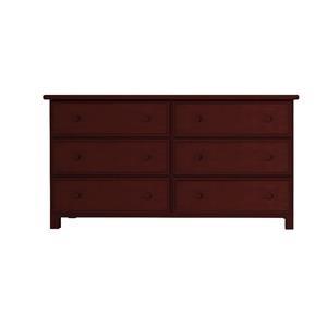 6 Drawer Dresser in Espresso