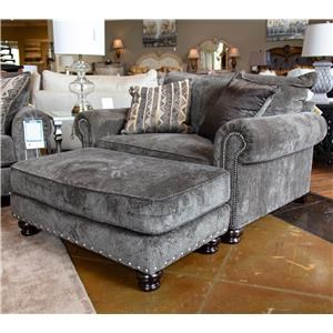 Jackson Furniture Avery Chair and Ottoman