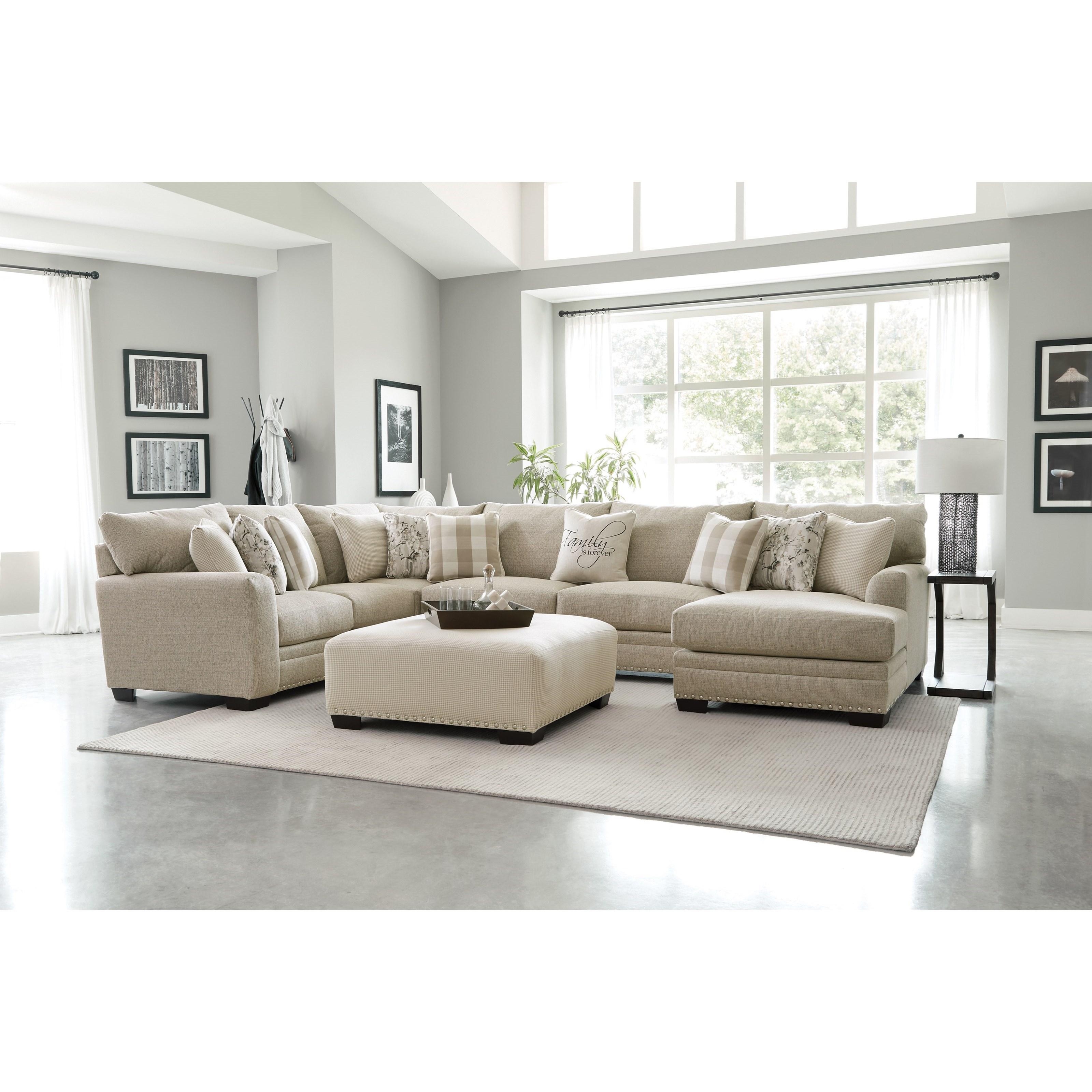 Salem Sectional by Jackson Furniture at EFO Furniture Outlet