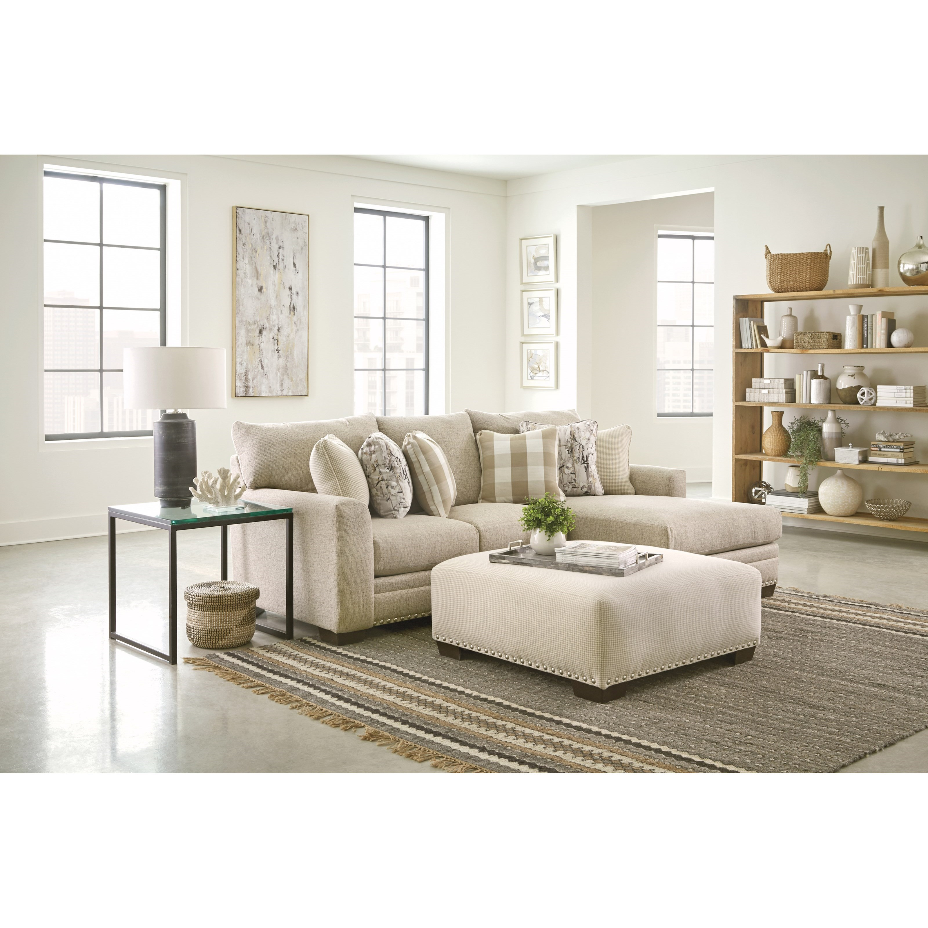 Salem Chaise Sofa by Jackson Furniture at Northeast Factory Direct