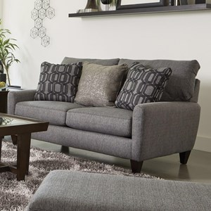 Loveseat with USB Port
