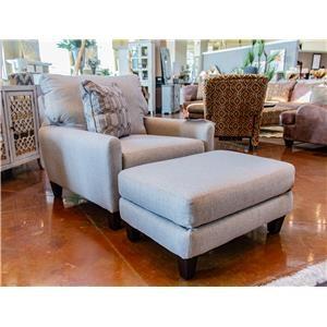 Jackson Furniture Ackland Chair & Ottoman