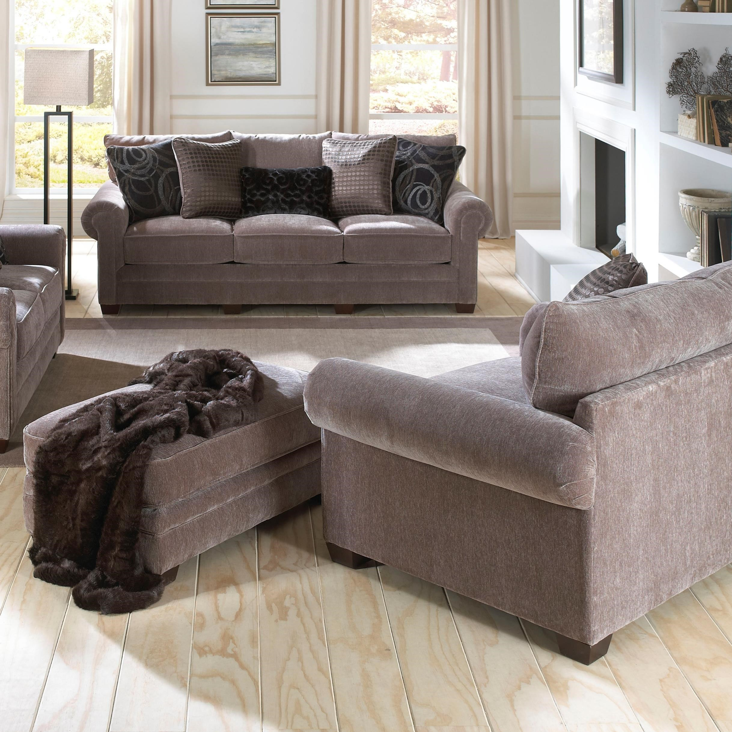 Austin Living Room Group by Jackson Furniture at Zak's Warehouse Clearance Center