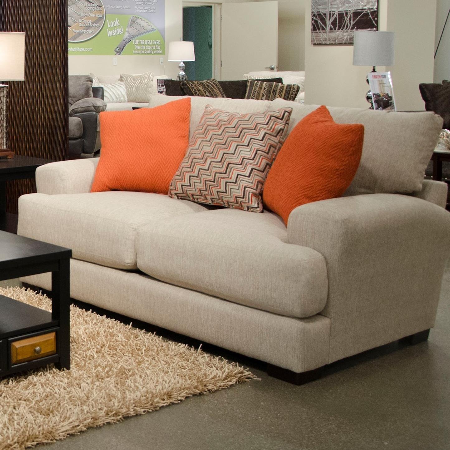Ava Loveseat w/ USB Port by Jackson Furniture at Lapeer Furniture & Mattress Center