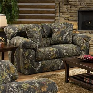 Camouflage Two Seat Loveseat