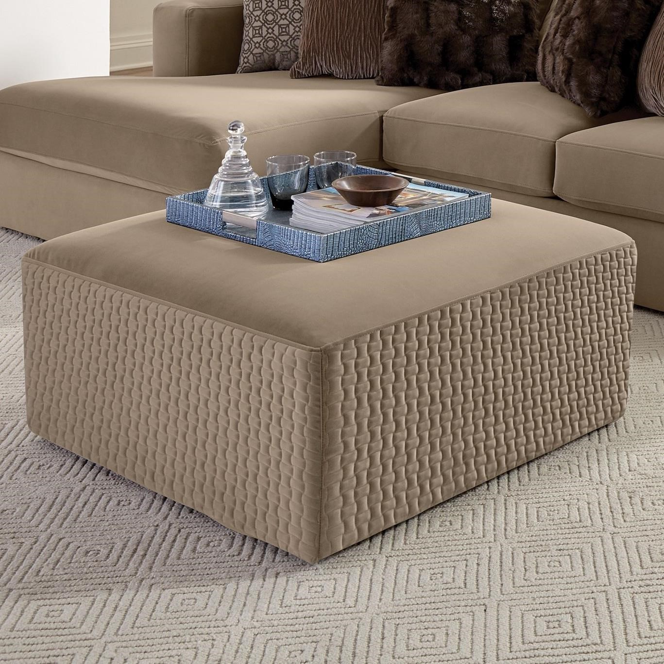 """Carlsbad Cocktail Ottoman (35"""") by Jackson Furniture at Northeast Factory Direct"""