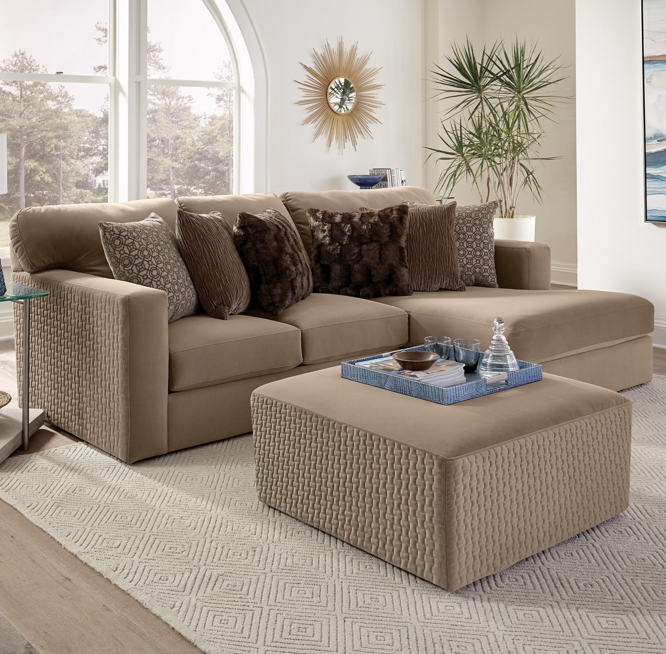 Carlsbad Chaise Sectional by Jackson Furniture at Northeast Factory Direct