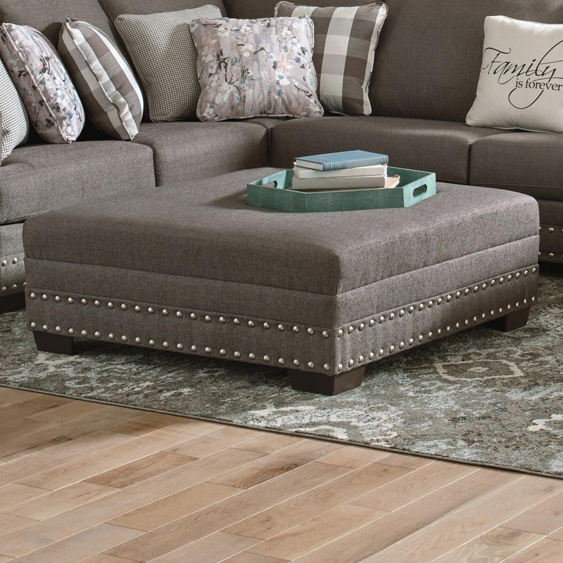 Crawford Cocktail Ottoman by Jackson Furniture at Lapeer Furniture & Mattress Center