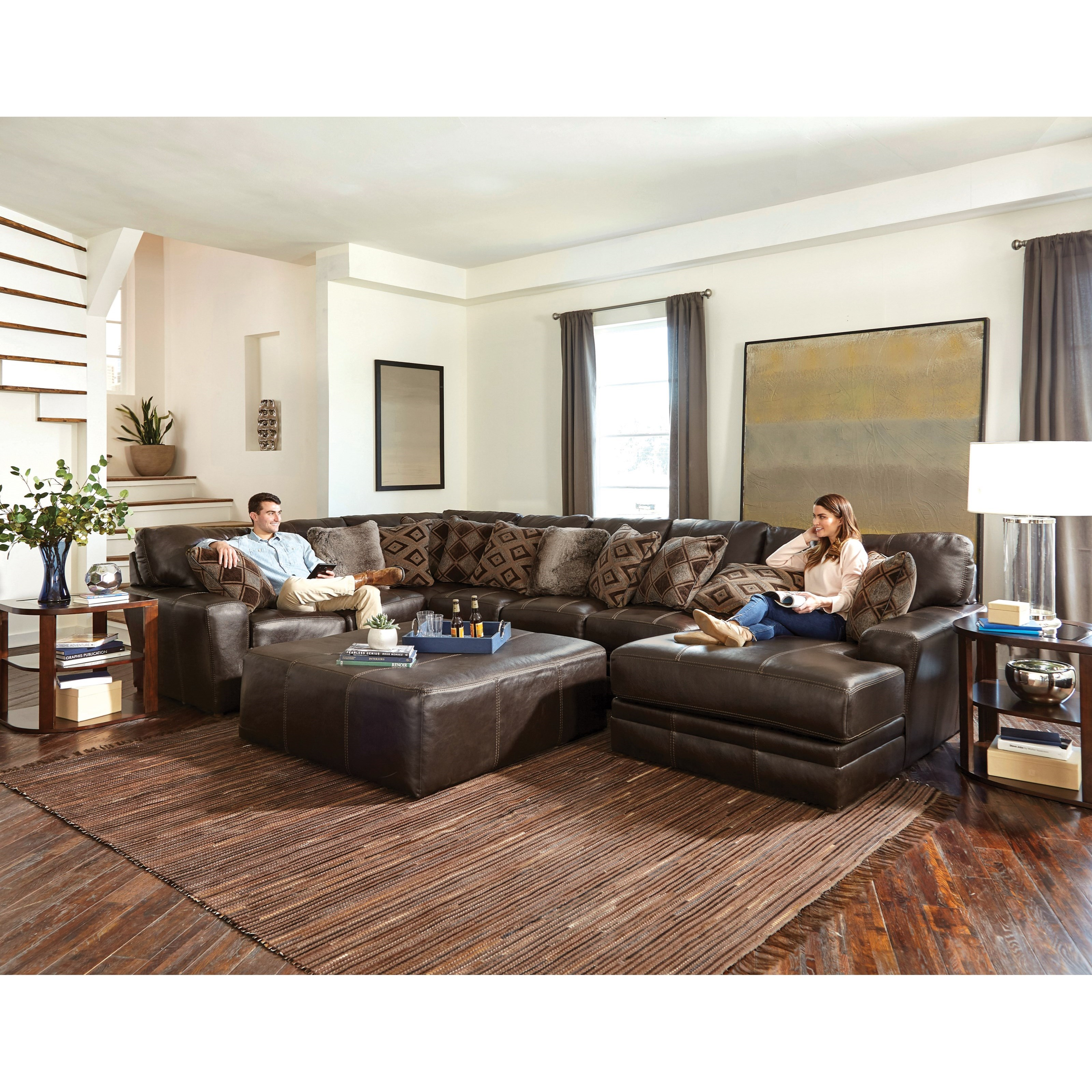 Denali 3 Piece Sectional by Jackson Furniture at Northeast Factory Direct
