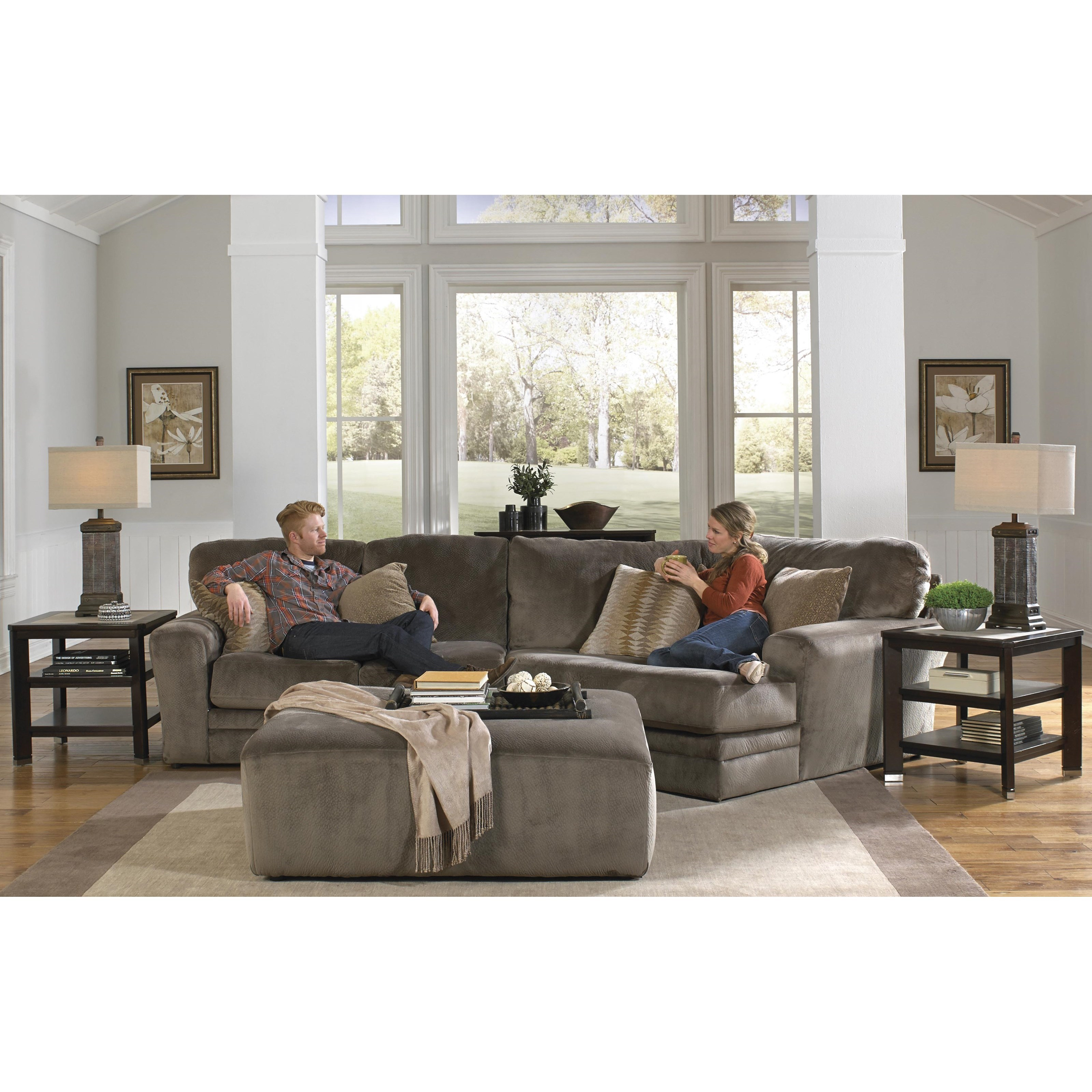 Everest 2 Piece Sectional by Jackson Furniture at Northeast Factory Direct