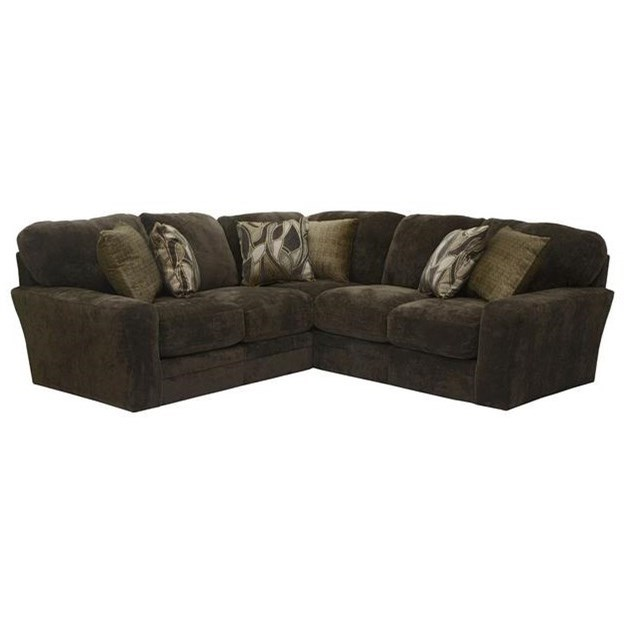 4377 Everest 2 Piece Sectional by Jackson Furniture at Northeast Factory Direct