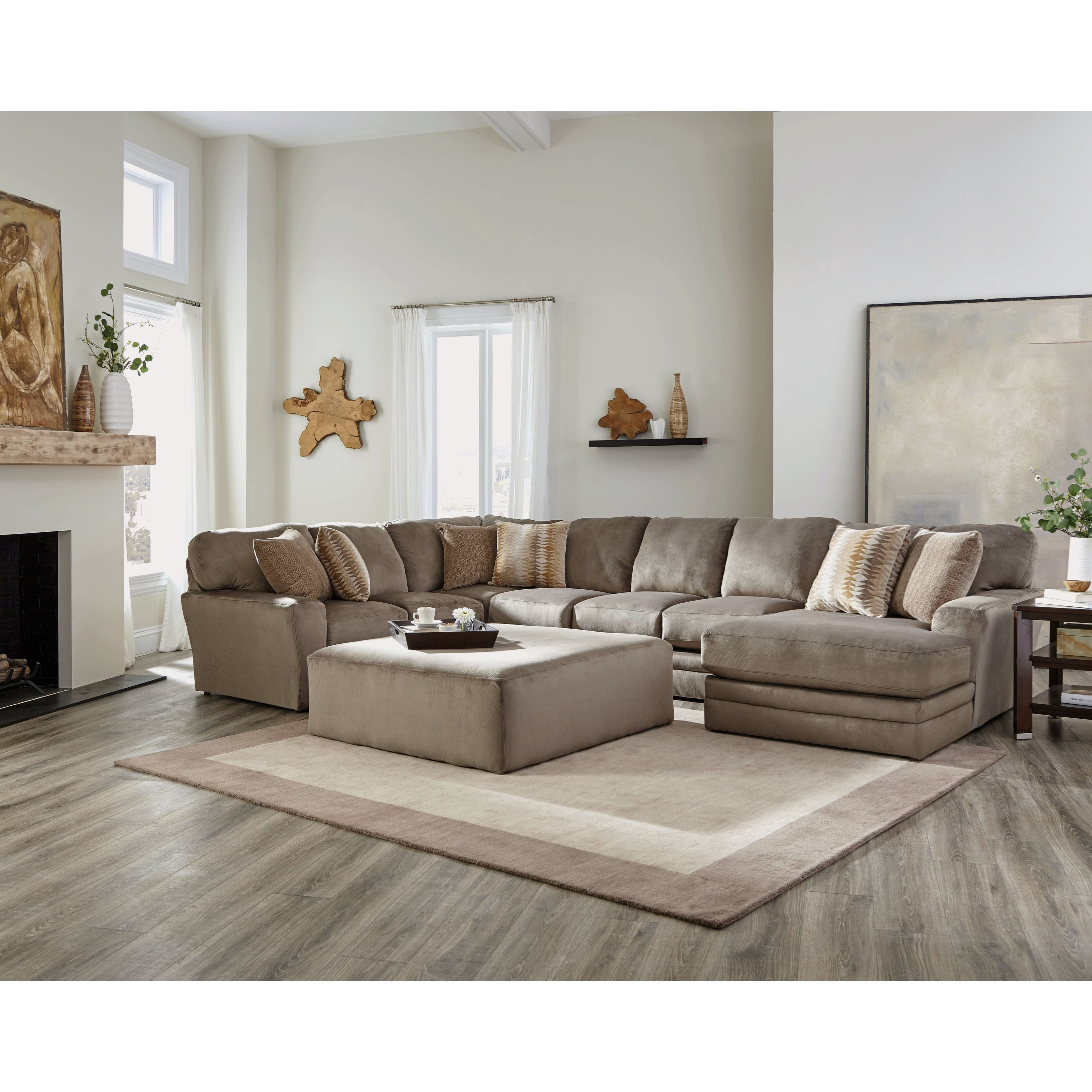 Everest 3 Piece Sectional by Jackson Furniture at Northeast Factory Direct
