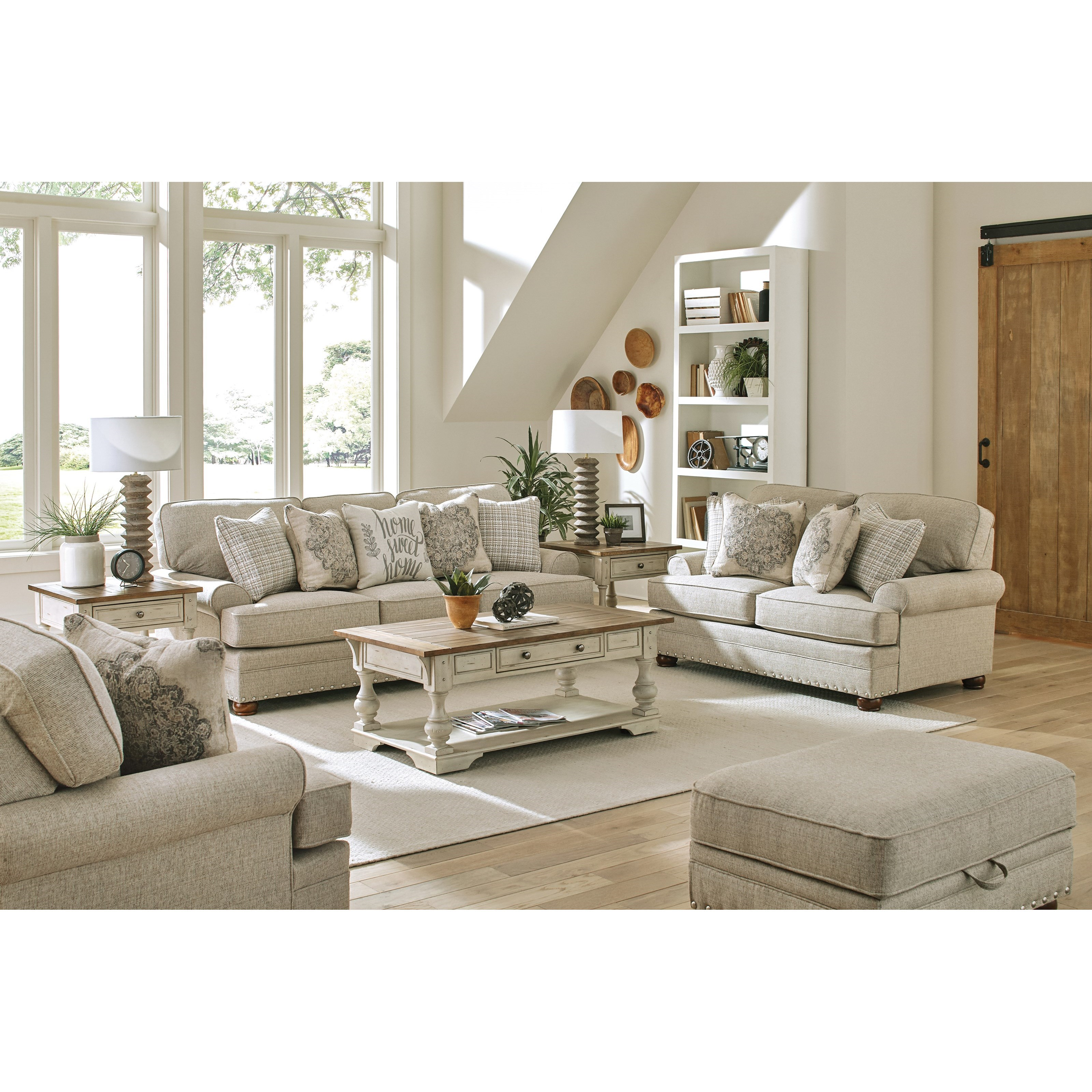 Farmington Living Room Group by Jackson Furniture at Northeast Factory Direct