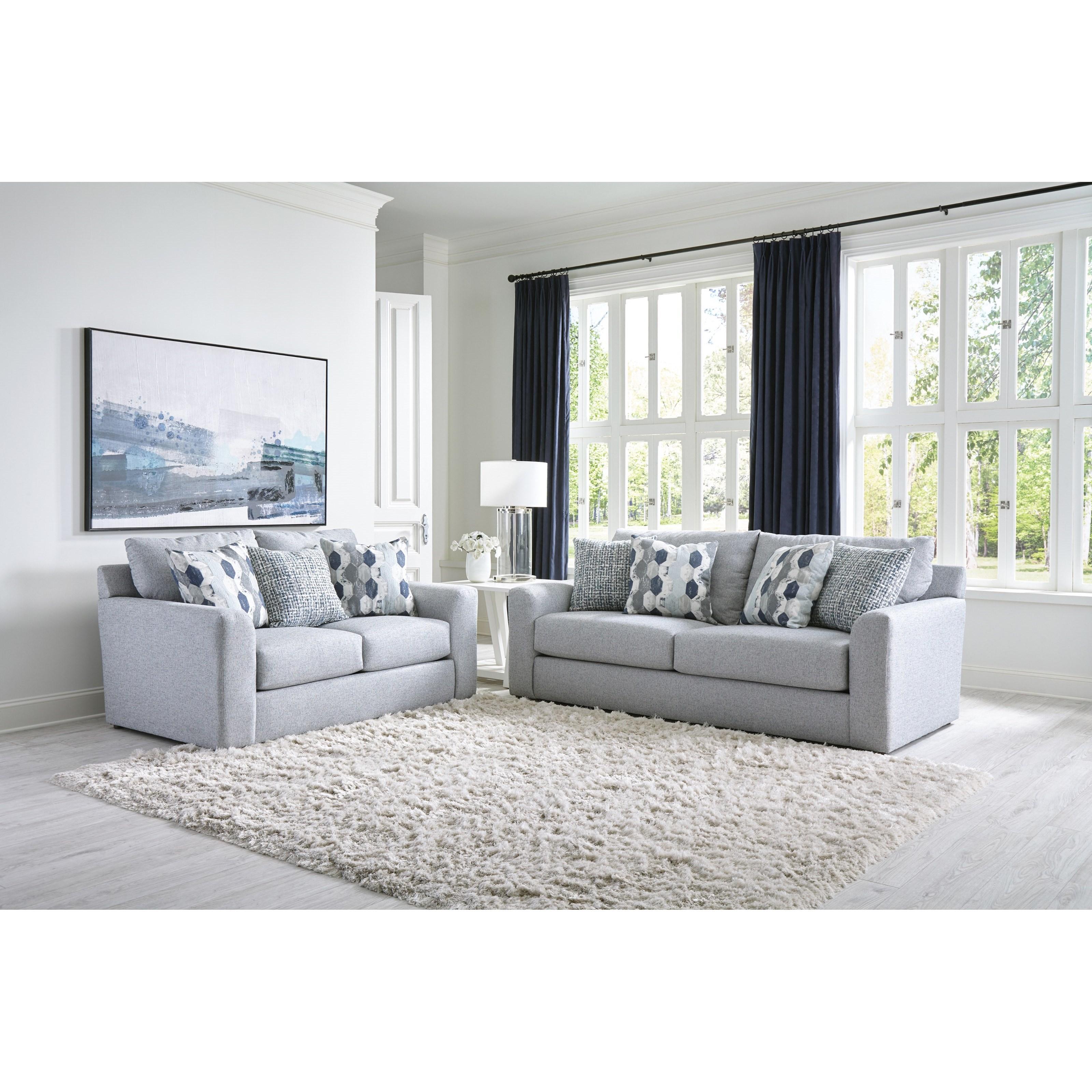 Hooten Living Room Group by Jackson Furniture at Bullard Furniture