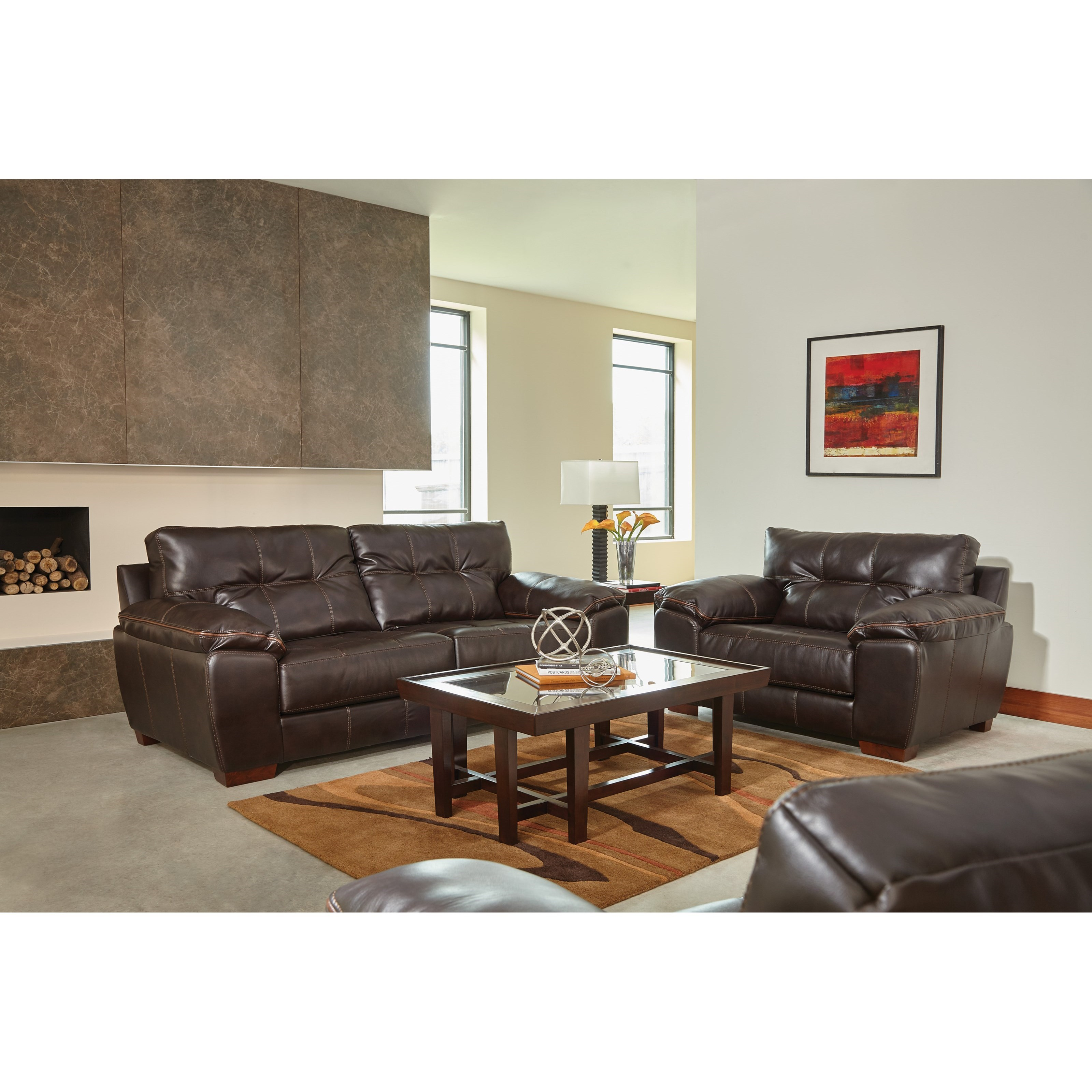 Hudson Living Room Group by Jackson Furniture at Northeast Factory Direct