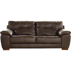 Contemporary Two Cushion Sofa