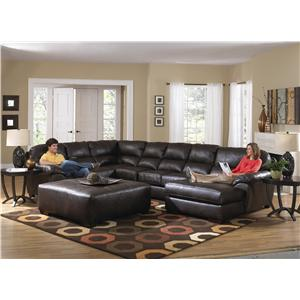 Jackson Furniture Lawson  Seven Seat Sectional