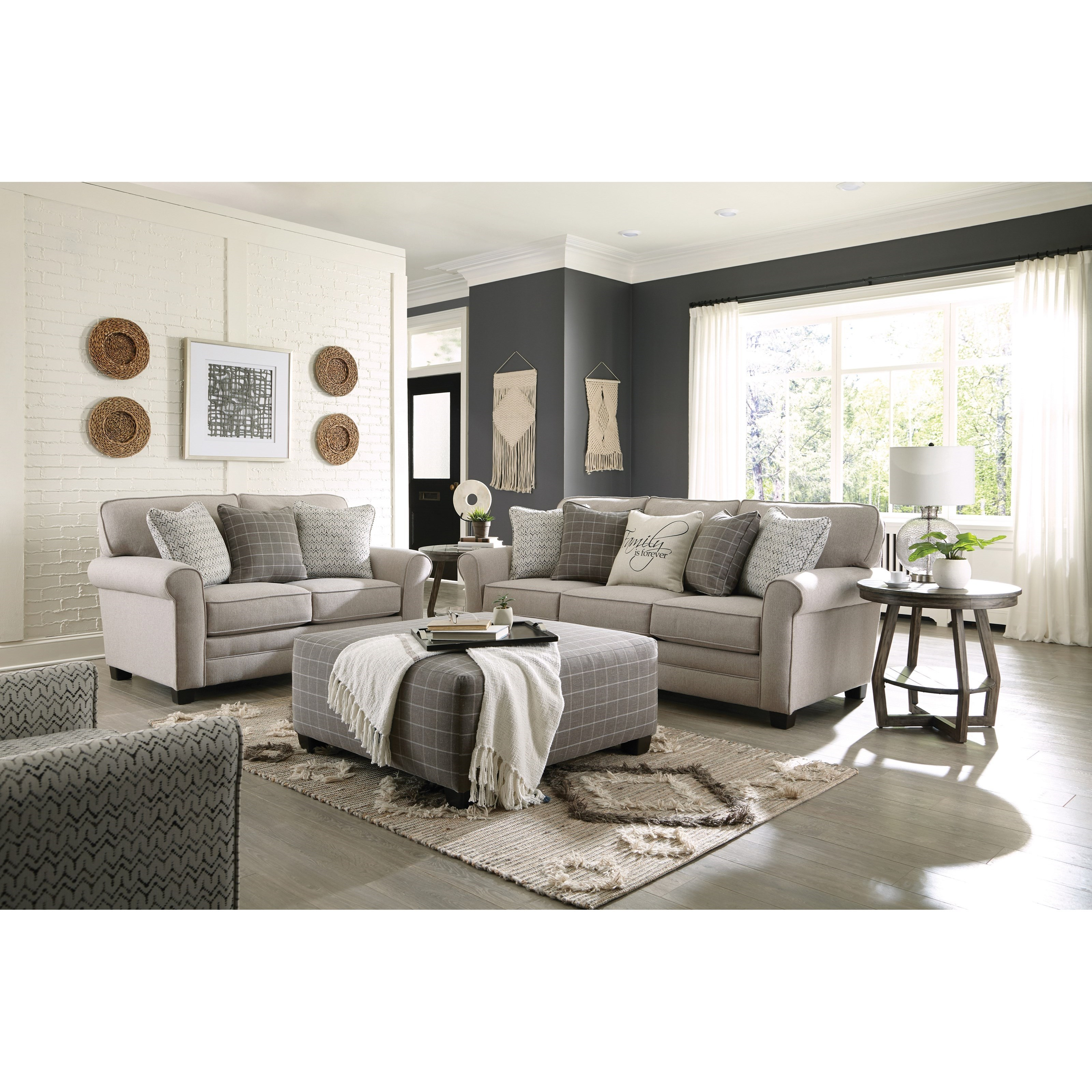 Lewiston Stationary Living Room Group by Jackson Furniture at Northeast Factory Direct