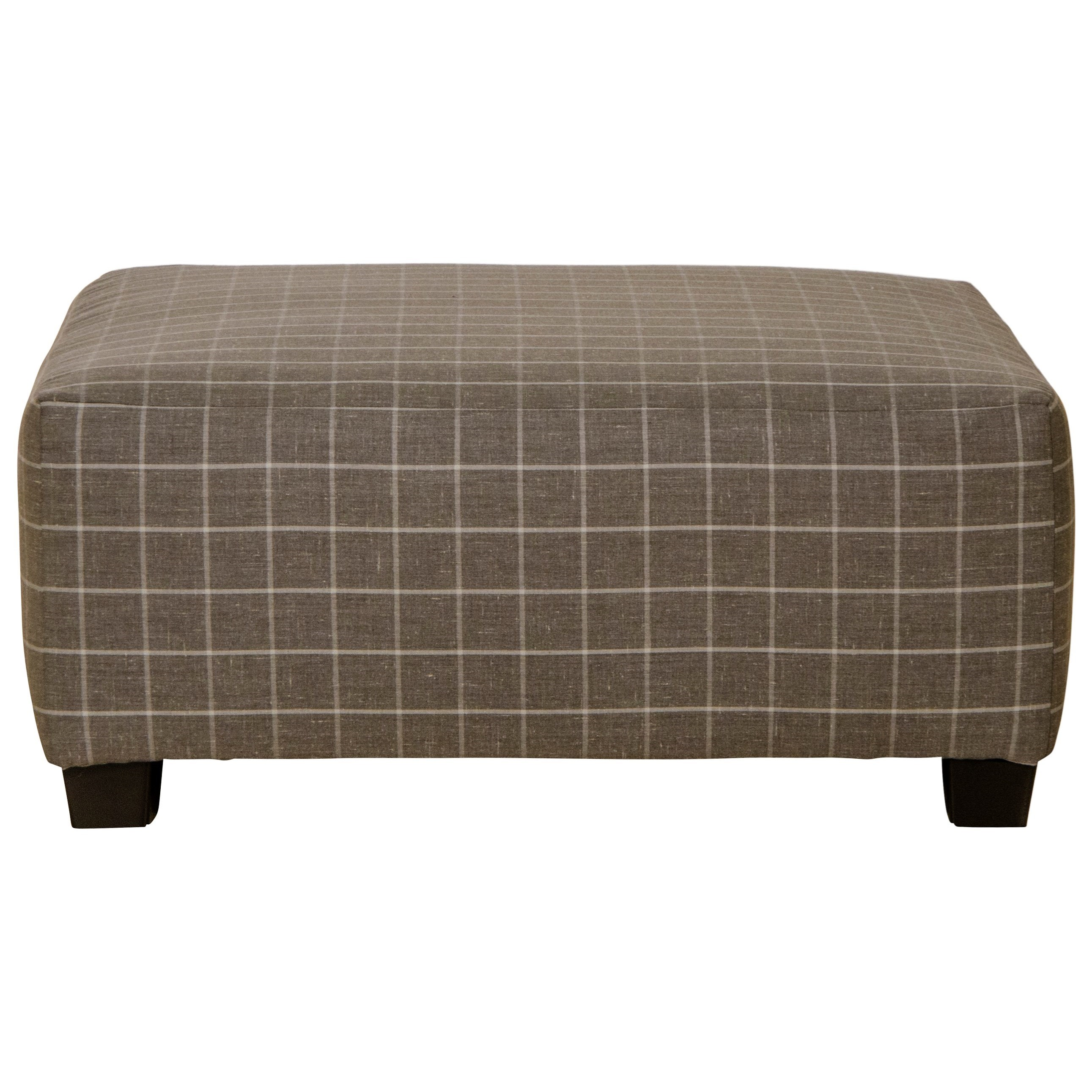 Nero Cocktail Ottoman by Jackson Furniture at EFO Furniture Outlet