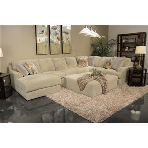 Six Seat Sectional Sofa