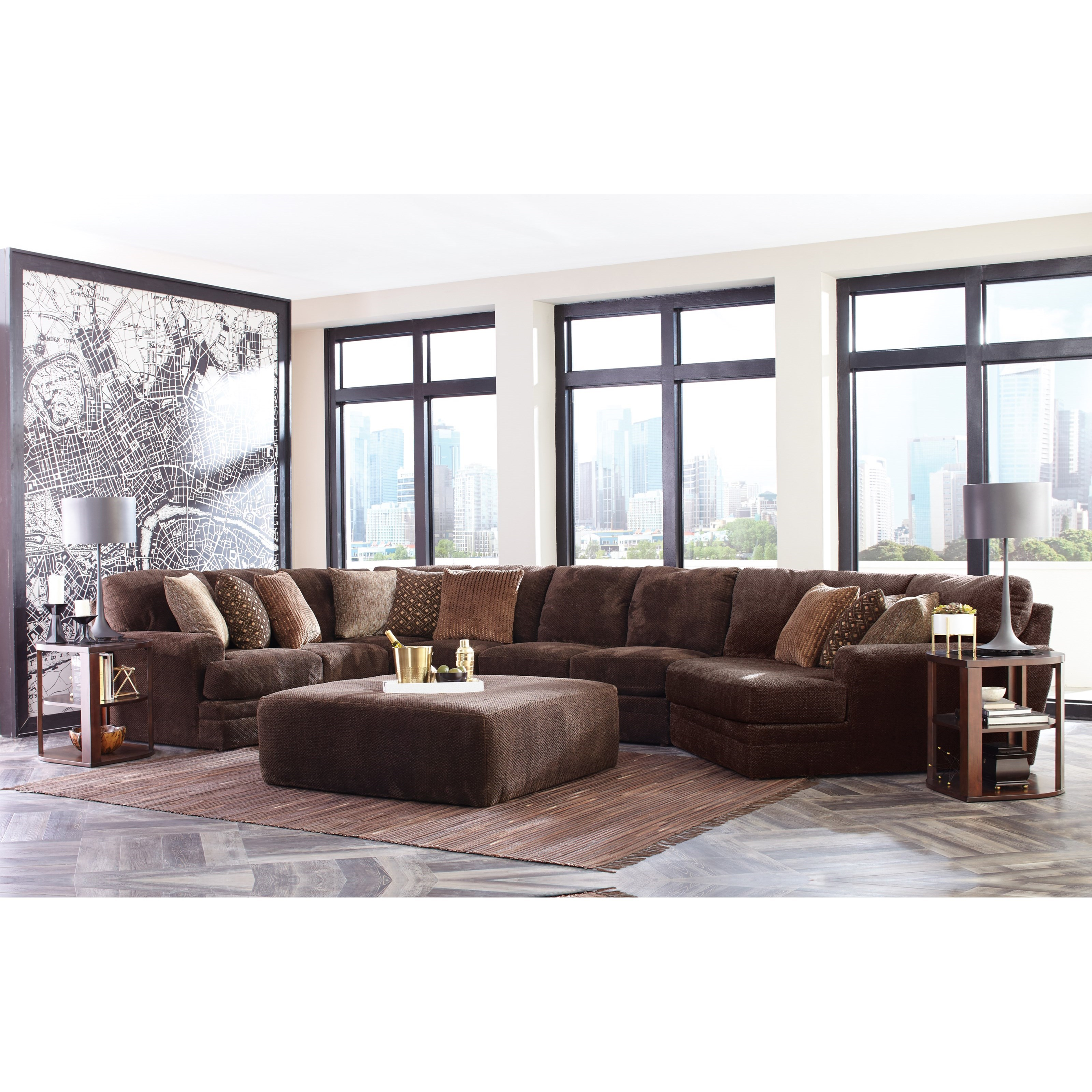 Mammoth 4 Piece Sectional by Jackson Furniture at Johnny Janosik
