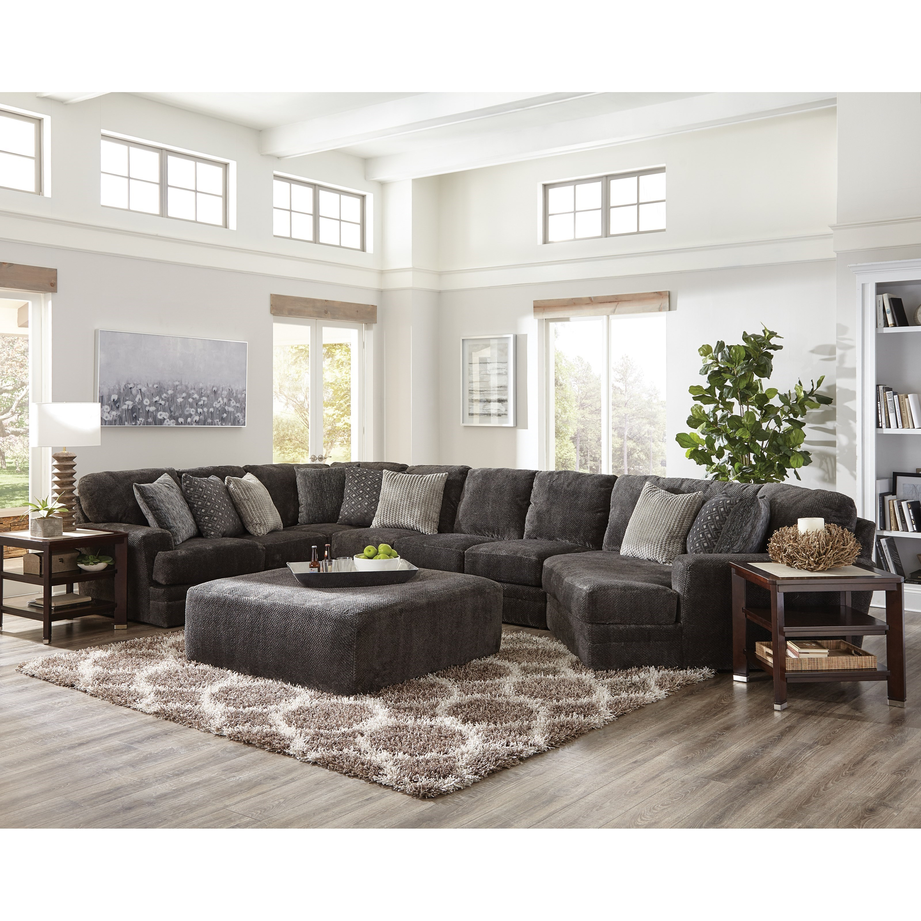 Mammoth 4 Piece Sectional by Jackson Furniture at Northeast Factory Direct