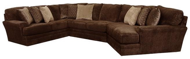 Mammoth Three Piece Sectional Sofa by Jackson Furniture at Johnny Janosik